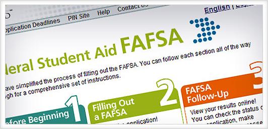 FAFSA Student Loan Form