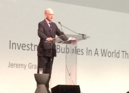 GMO chief investment strategist Jeremy Grantham speaking at the 2015 Morningstar Investment Conference.