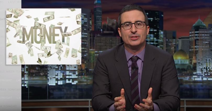 John Oliver on Financial Planners